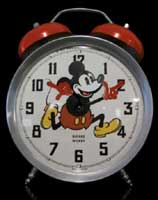 Screen-shot: Mickey Mouse alarm clock